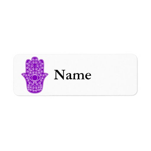 Hamsa-Mano púrpura de la Miriam-Mano de Fatima.png Etiquetas De Remite