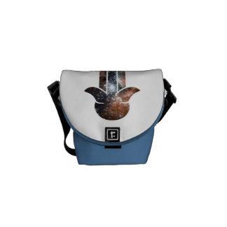 Hamsa Milky Way Messenger Bag