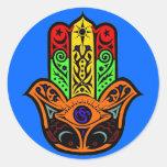 HAMSA multi color Stickers