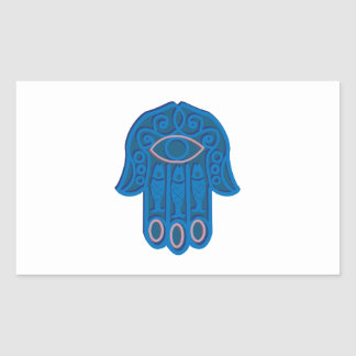 Hamsa Symbol Rectangular Sticker
