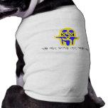 Hamsa Yellow with Shemah Doggie Tee Shirt
