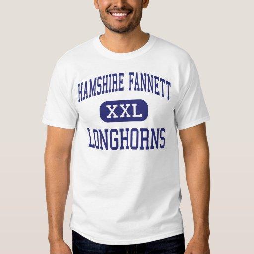 Hamshire Fannett Longhorns Middle Beaumont Tees