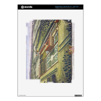 Hamstead Marshall in the county of Berkshire engra iPad 3 Skin