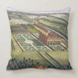 Hamstead Marshall in the county of Berkshire engra Throw Pillow