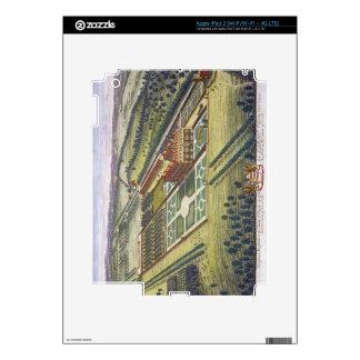 Hamstead Marshall in the county of Berkshire engra iPad 3 Decals
