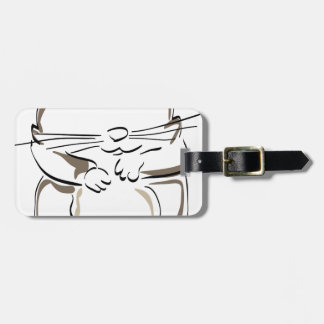 hamster-1530675 luggage tag