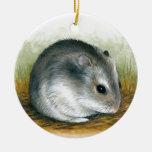 Hamster 25 ceramic ornament