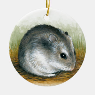 Hamster 25 ceramic ornament