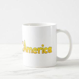 Hamster Across America Mugs
