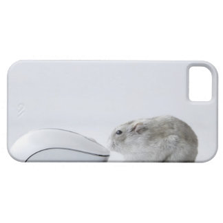 Hamster and Computer mouse iPhone SE/5/5s Case
