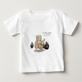 Hamster and Ninja Fruit Baby T-Shirt