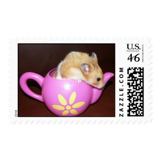 hamster and teapot stamps