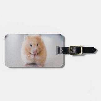 hamster bag tag