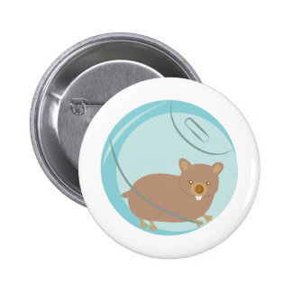 Hamster Ball 2 Inch Round Button