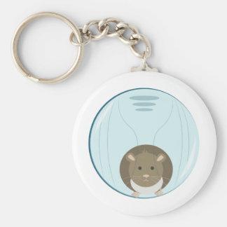 Hamster Ball Key Chain