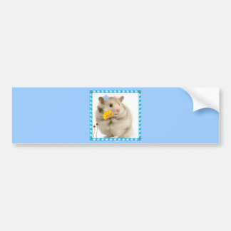 hamster bumper sticker