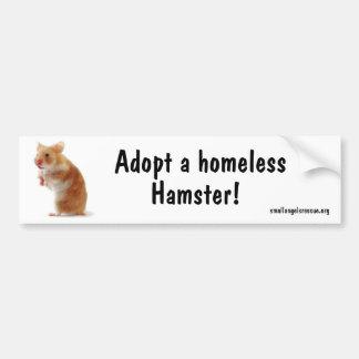 Hamster Bumpersticker Bumper Stickers