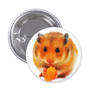 Hamster 1 Inch Round Button