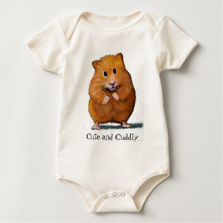 HAMSTER, Cute and Cuddly Baby Bodysuit