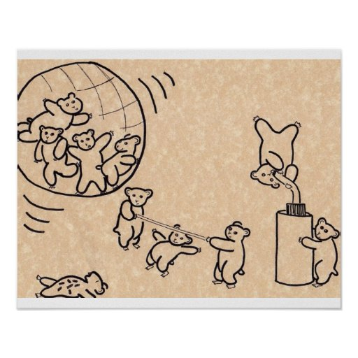 Hamster Dance Party Print