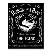 hamster daniels postcard