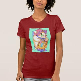 Hámster de la camiseta lindo