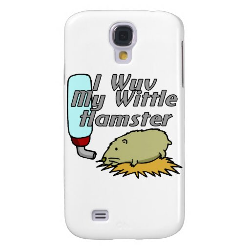 Hámster de Wittle Funda Para Galaxy S4
