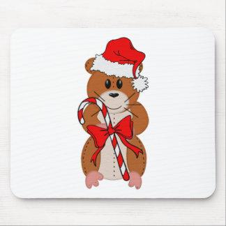 Hámster del navidad tapete de raton