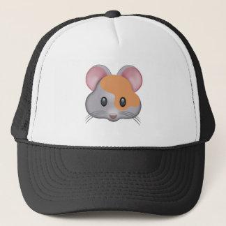 Hamster Face Emoji Trucker Hat