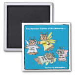 Hamster Fairies of the Universe Cartoon Magnet
