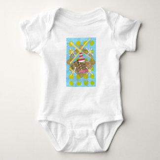 Hamster Ferris Wheel Babygro T Shirt