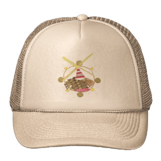Hamster Ferris Wheel Baseball Cap Trucker Hat