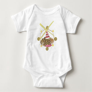 Hamster Ferris Wheel No Background Babygro Baby Bodysuit