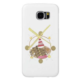 Hamster Ferris Wheel Samsung Galaxy S6 Case