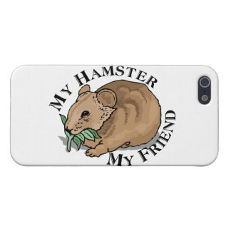 Hamster Friend iPhone SE/5/5s Cover