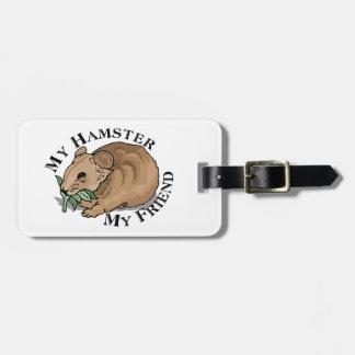 Hamster Friend Luggage Tag