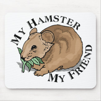 Hamster Friend Mouse Pad
