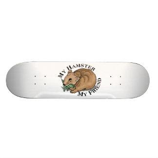 Hamster Friend Skateboard Deck