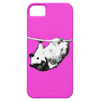 Hamster hanging out, Pink iPhone case