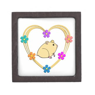 Hamster Heart Keepsake Box