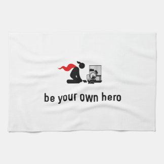 Hamster Hero Towels
