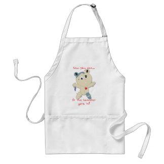 hamster hostage adult apron