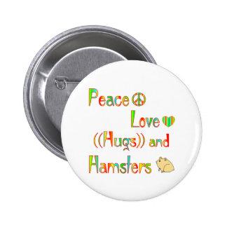 Hamster Hugs Pins