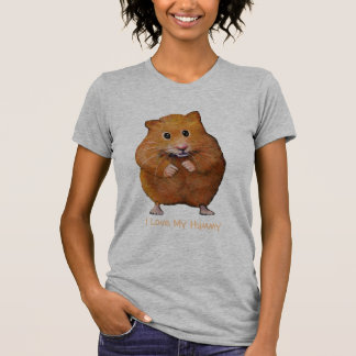 HAMSTER, I Love My Hammy: Freehand Art T Shirt