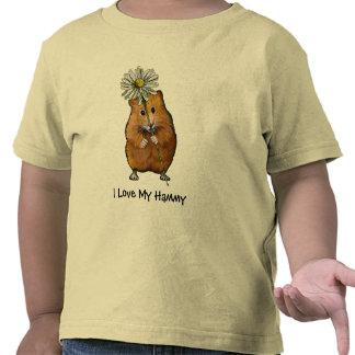 HAMSTER, I Love My Hammy KID'S SHIRT