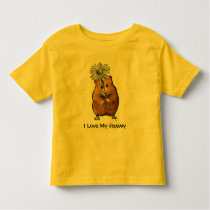 HAMSTER, I Love My Hammy KID'S SHIRT