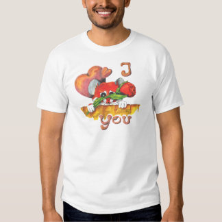 Hamster I love you T-Shirt