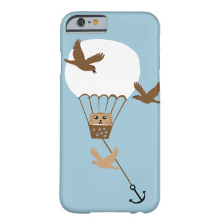Hamster in a hot air balloon adventure barely there iPhone 6 case