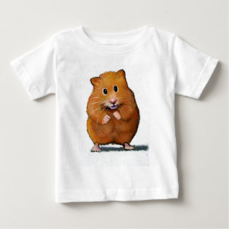 HAMSTER IN COLOR PENCIL TEE SHIRT
