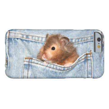 deemac1 Hamster in pocket barely there iPhone 6 case